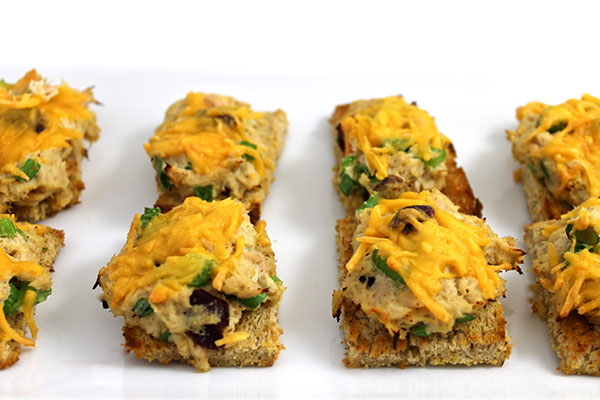 Skinny, Mini Tuna Melts with Weight Watchers Points | Skinny Kitchen