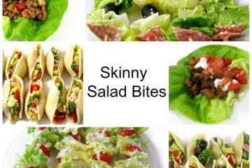 Skinny Salad Bites