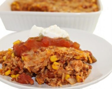 Mexican chicken and rice casserole new photojpg
