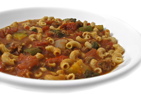 Crock-Pot, Skinny Tomato Beef Macaroni Stew with Weight ...