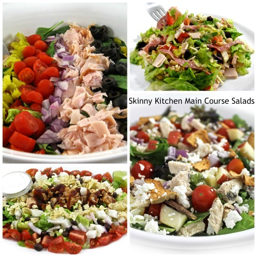 Dinner Salad Ideas Main Course Salad Recipes: 4 Sensational, Skinny Salad Meals With Weight Watchers