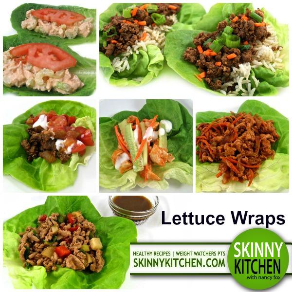 lettuce wrap grouping photo