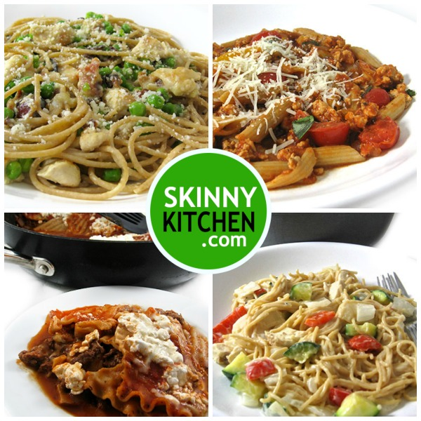 4 Italian Pasta Dishes Made Skinny