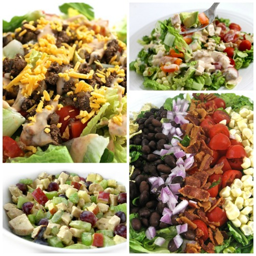 4 Skinnylightful Main Course Salads With Weight Watchers