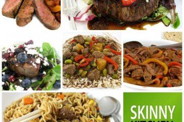 6 skinny steak recipes