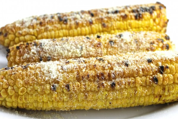 Grilled or Broiled Garlic Parmesan Corn with Weight Watchers Points ...