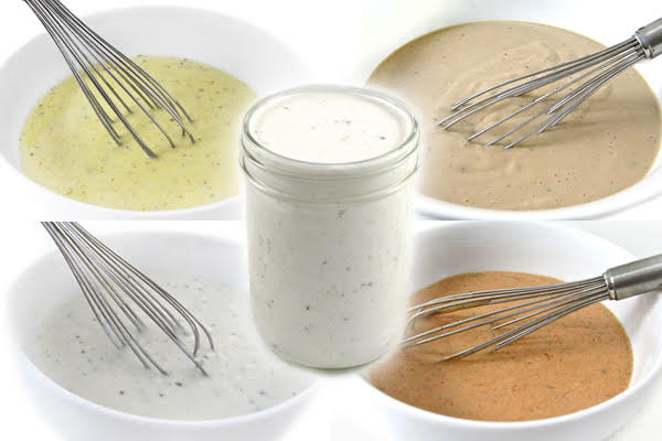 5 skinny salad dressings