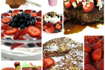 Skinny strawberry recipes