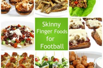skinny finger foods for football photo
