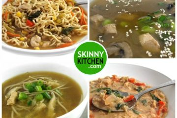 4 asian chicken soups-photo