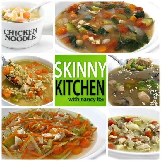 6 chicken soup recipes