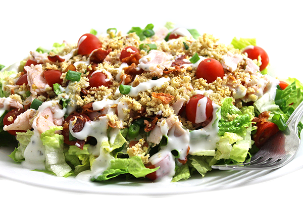 turkey BLT salad