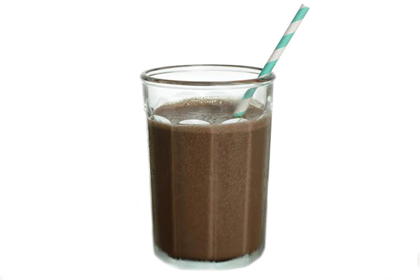 Skinny Frozen Hot Chocolate (3 ingredients) with Weight Watchers ...