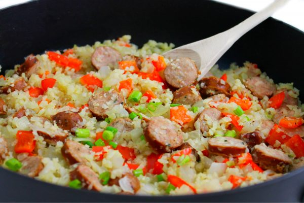 skinny-skillet-sausages-and-cauliflower-rice-1-color