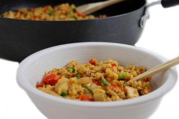 Thai-Chicken-and-Peanut-Cauliflower-Rice-photo 1
