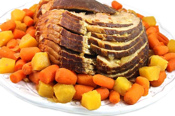 Crock Pot Skinny Spiral Ham Paleo Gluten Free With Weight