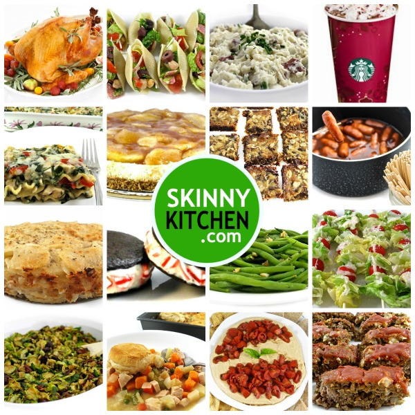 Skinny Kitchen S Holiday Recipes With Weight Watchers Points Skinny Kitchen