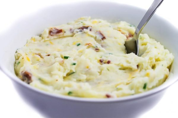 Loaded Mashed Potatoes, Skinnyfied with Weight Watchers ...